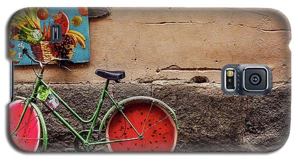 Watermelon Wheels Galaxy S5 Case by Happy Home Artistry