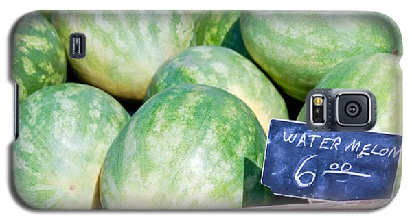 Watermelons With A Price Sign Galaxy S5 Case