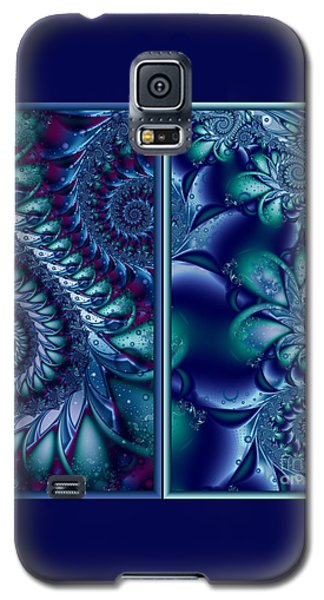 Galaxy S5 Case featuring the digital art Waters Of The Caribbean by Michelle H