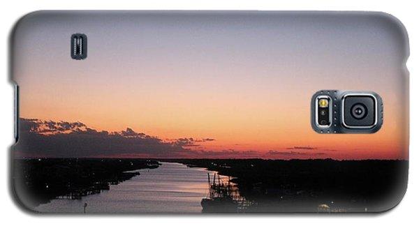 Waterway Sunset #1 Galaxy S5 Case