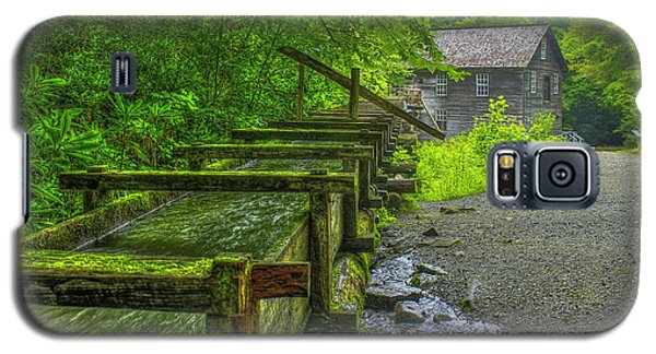 Galaxy S5 Case featuring the photograph Waterworks Mingus Mill Mingus Creek Art  Great Smoky Mountains Art by Reid Callaway