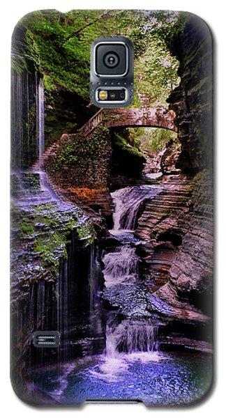 Watkins Glen State Park - Rainbow Falls 002 Galaxy S5 Case