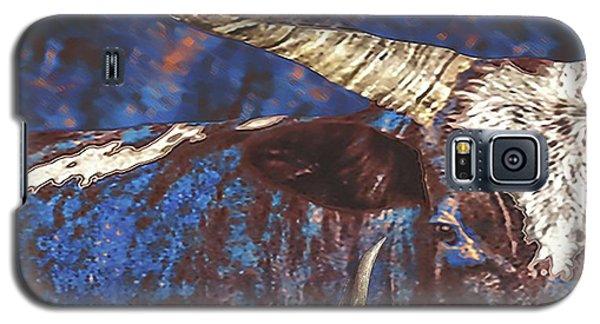 Galaxy S5 Case featuring the photograph Watusi Blues by Amanda Smith