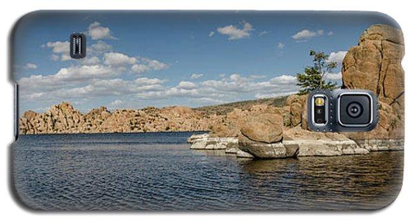 Watson Lake Panorama Galaxy S5 Case