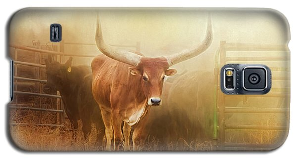 Watusi In The Dust And Golden Light Galaxy S5 Case