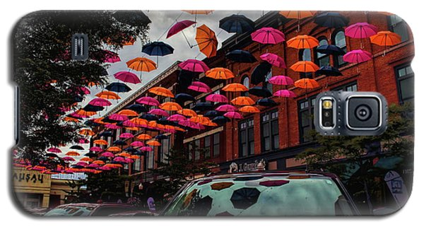 Wausau's Downtown Umbrellas Galaxy S5 Case