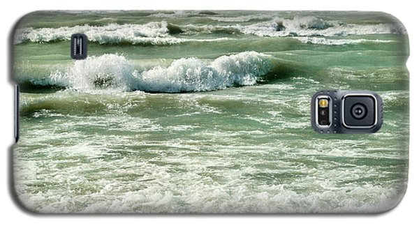 Wave Action Galaxy S5 Case by Kathi Mirto