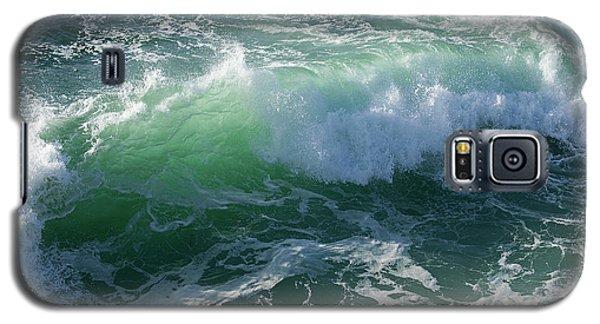 Wave At Montana De Oro Galaxy S5 Case