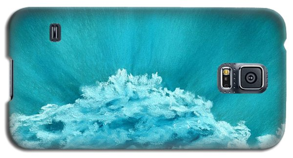 Galaxy S5 Case featuring the painting Wave Cloud - Sky And Clouds Collection by Anastasiya Malakhova