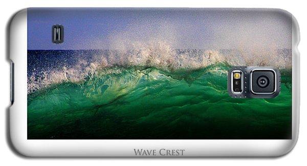 Wave Crest Galaxy S5 Case