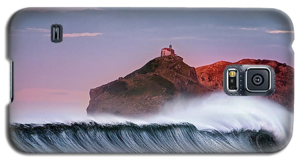 Wave In Bakio Galaxy S5 Case