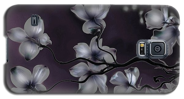 Galaxy S5 Case featuring the painting Wave Japanese Art by Gray  Artus