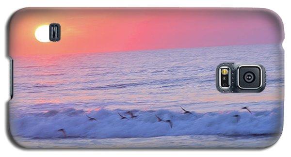 Wave Of Gratitude Nature Art Galaxy S5 Case