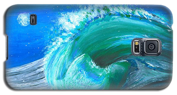 Wave Galaxy S5 Case by Veronica Rickard