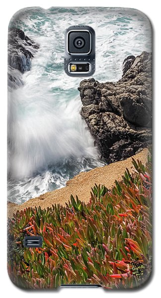 Waves And Rocks At Soberanes Point, California 30296 Galaxy S5 Case