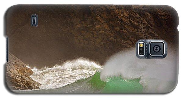 Waves At Waikiki Galaxy S5 Case