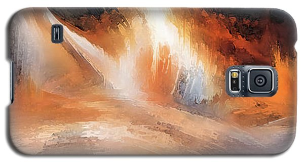 Waves Of Light Galaxy S5 Case