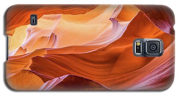 Waves Of Stone Galaxy S5 Case by Carl Amoth