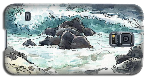 Wawaloli Beach, Hawaii Galaxy S5 Case