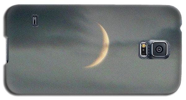 Waxing Crescent Moon Galaxy S5 Case