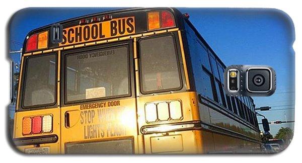 School Galaxy S5 Case - Way To School #juansilvaphotos by Juan Silva