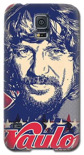 Waylon Jennings Pop Art Galaxy S5 Case by Jim Zahniser