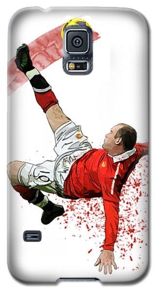 Wayne Rooney Galaxy S5 Case by Armaan Sandhu