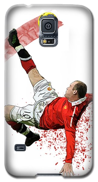 Wayne Rooney Galaxy S5 Case by Armaan Sandhu