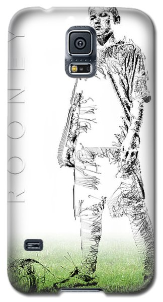 Wayne Rooney Galaxy S5 Case by ISAW Gallery