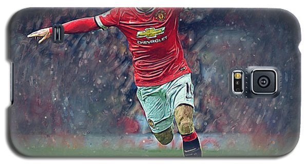 Wayne Rooney Galaxy S5 Case by Semih Yurdabak