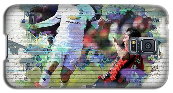 Wayne Rooney Street Art Galaxy S5 Case by Don Kuing
