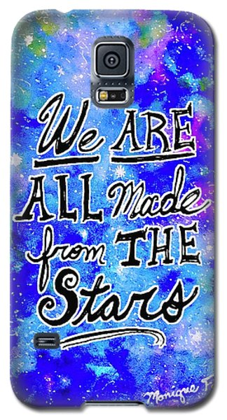 We Are All Made From The Stars Galaxy S5 Case