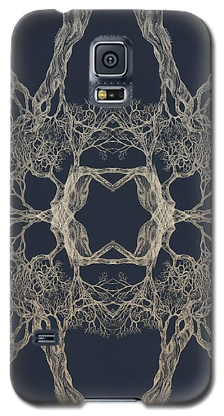 We Are All Made Of Stars Tree 12 Hybrid 1 Galaxy S5 Case