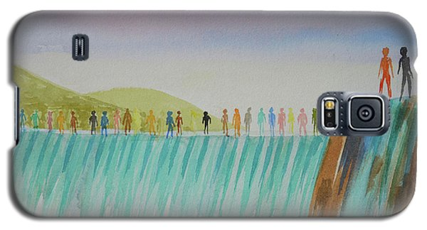We Are All The Same 1.1 Galaxy S5 Case by Tim Mullaney