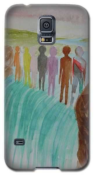 We Are All The Same 1.2 Galaxy S5 Case by Tim Mullaney