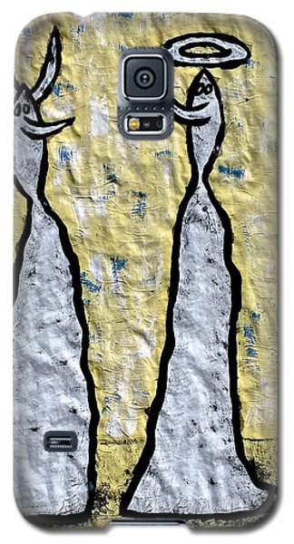 We Are Much Alike You And I Galaxy S5 Case by Mario Perron