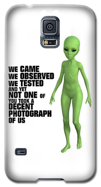 Boobies Galaxy S5 Case - We Came, We Observed by Esoterica Art Agency