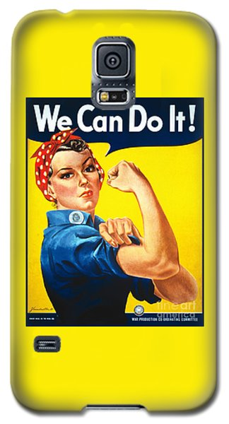 We Can Do It Rosie The Riveter Poster Galaxy S5 Case