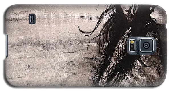 Galaxy S5 Case featuring the painting We Dreamed Our Dreams by Jarmo Korhonen aka Jarko