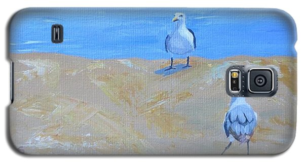 We First Met On The Beach Galaxy S5 Case