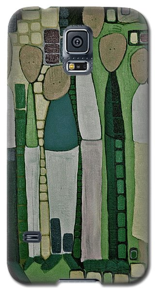 Galaxy S5 Case featuring the painting We Miss You by Donna Howard