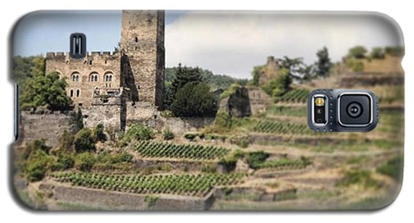 Fantasy Galaxy S5 Case - Rhine River Castle And Winery by Nancy Ingersoll
