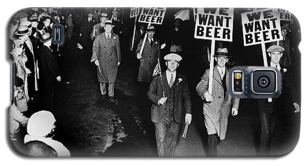 We Want Beer Galaxy S5 Case by Jon Neidert