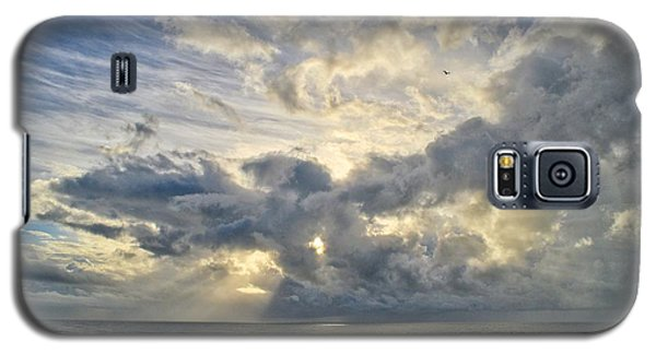 Weather Over Topsail Beach 2977 Galaxy S5 Case