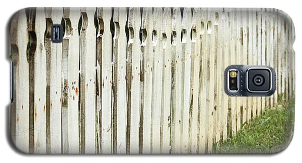 Weathered Fence Galaxy S5 Case