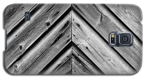 Weathered Wood Galaxy S5 Case by Larry Carr