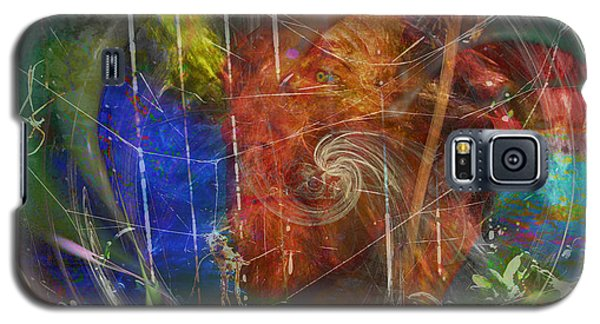 Web Of Collective Unconsciousness Galaxy S5 Case