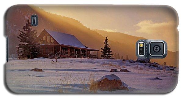 Weber Canyon Cabin Sunrise. Galaxy S5 Case