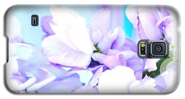 Wedding Flower Pedals Galaxy S5 Case by Marsha Heiken