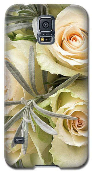 Wedding Flowers Galaxy S5 Case